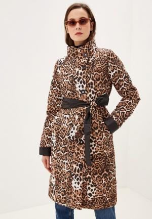 Куртка утепленная Grand Style. Цвет: коричневый