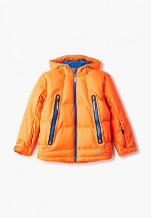 Куртка горнолыжная 4F. Цвет: оранжевый