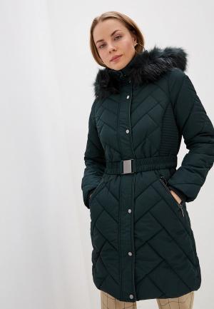 Куртка утепленная Wallis. Цвет: зеленый