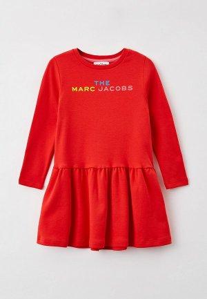 Платье Marc Jacobs. Цвет: красный