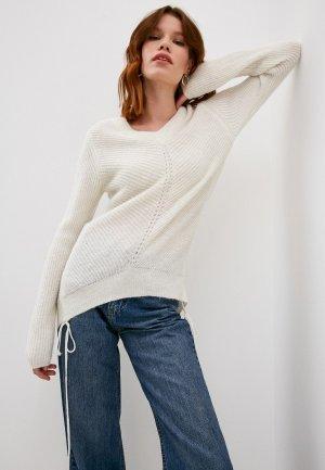 Пуловер Patrizia Pepe. Цвет: белый