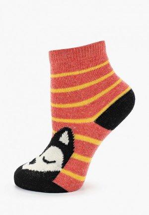 Носки Sela. Цвет: красный