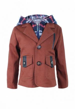 Куртка утепленная Irby Style. Цвет: коричневый