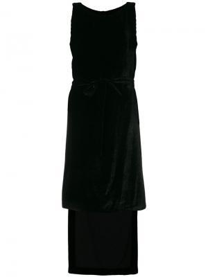 Платье с драпировкой Gareth Pugh. Цвет: чёрный