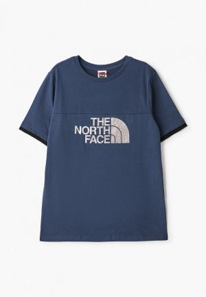 Футболка The North Face. Цвет: синий