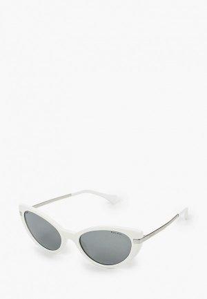 Очки солнцезащитные Ralph Lauren. Цвет: белый