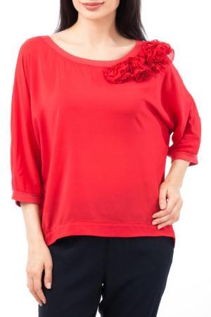 Блуза EUROPEAN CULTURE. Цвет: красный