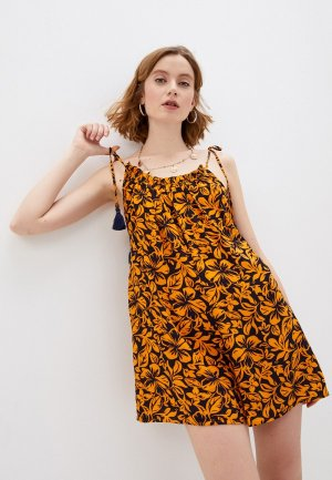 Платье пляжное Maaji. Цвет: оранжевый