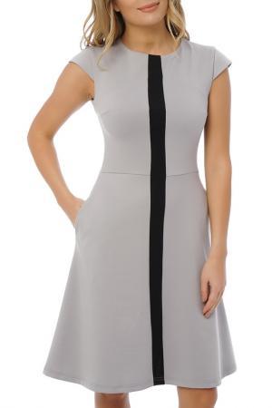 Платье Gloss. Цвет: серый