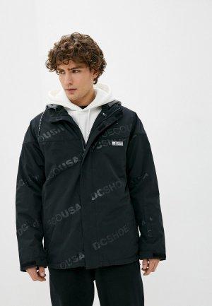 Куртка горнолыжная DC Shoes. Цвет: черный