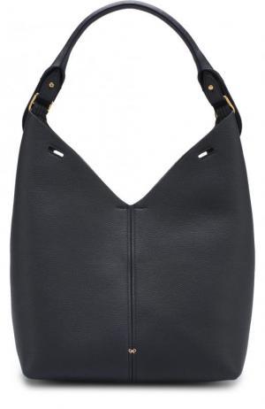 Сумка Small Build a Bag Anya Hindmarch. Цвет: темно-синий