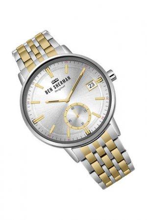 Наручные часы BEN SHERMAN. Цвет: серебристый