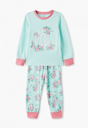 Пижама Blukids. Цвет: бирюзовый