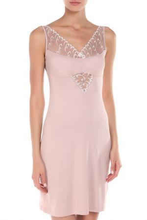 Сорочка BELARUSACHKA. Цвет: розовый