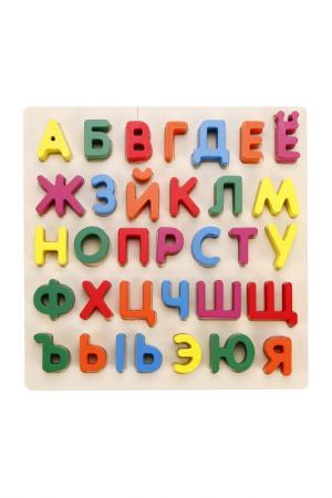 Вкладыши Алфавит MAPACHA. Цвет: мультиколор