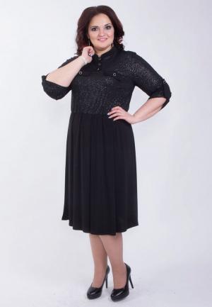 Платье Wisell. Цвет: черный