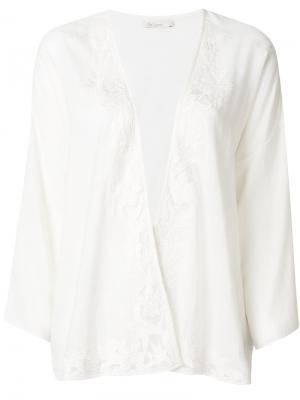Блузка Ethel Mes Demoiselles. Цвет: белый
