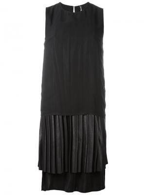 Платье Maki Minimarket. Цвет: чёрный