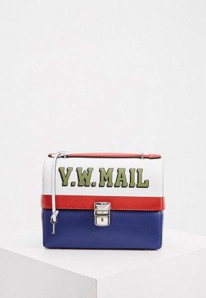 Сумка Vivienne Westwood. Цвет: разноцветный