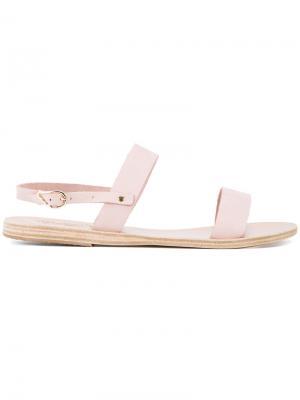 Сандалии Clio Ancient Greek Sandals. Цвет: розовый и фиолетовый