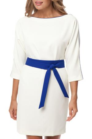 Платье Gloss. Цвет: молочный