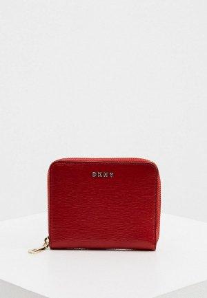 Кошелек DKNY. Цвет: красный