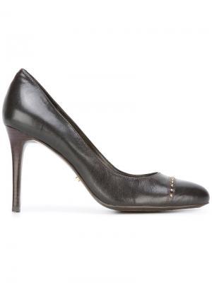 Туфли с миндалевидным носком Lauren Ralph. Цвет: коричневый
