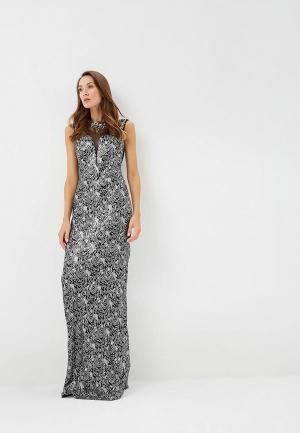 Платье Soky & Soka. Цвет: серебряный