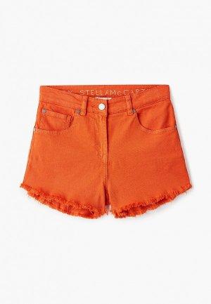 Шорты Stella McCartney Kids. Цвет: оранжевый