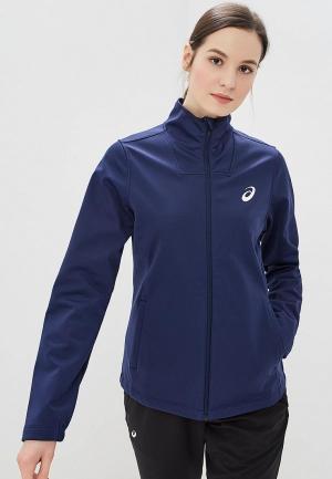 Куртка ASICS. Цвет: синий