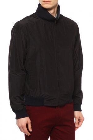 Куртка CORNELIANI. Цвет: черный