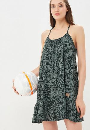 Платье Femi Stories. Цвет: зеленый