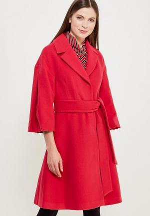 Пальто Grand Style. Цвет: розовый