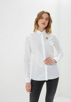 Рубашка Frankie Morello. Цвет: белый