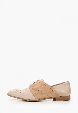 Ботинки Fratelli Rossetti. Цвет: бежевый