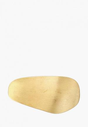Заколка Violeta by Mango. Цвет: золотой
