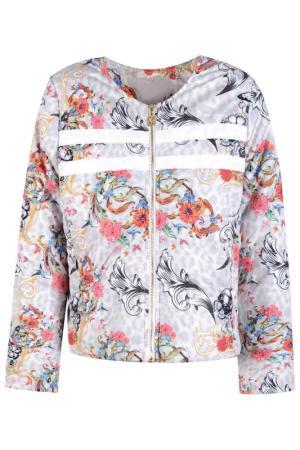 Куртка DE SALITTO. Цвет: белый