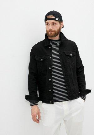 Куртка джинсовая 7 For All Mankind. Цвет: черный