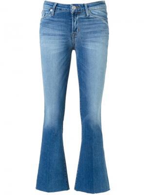 Укороченные расклешенные джинсы Carve Hudson. Цвет: синий