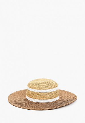 Шляпа Fabretti. Цвет: коричневый