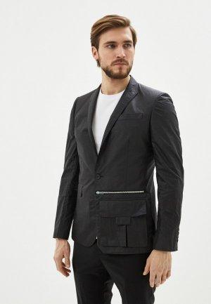 Пиджак Les Hommes. Цвет: черный