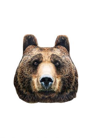 Подголовник медведь 30х32 GIFTNHOME GIFT'N'HOME. Цвет: коричневый