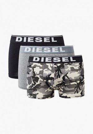 Трусы 3 шт. Diesel. Цвет: разноцветный