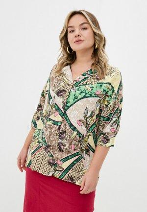 Блуза Gerry Weber. Цвет: разноцветный
