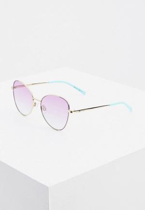 Очки солнцезащитные M Missoni. Цвет: золотой