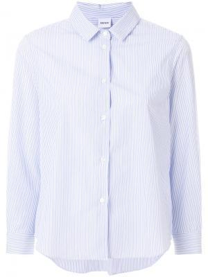Cropped sleeve shirt Aspesi. Цвет: синий