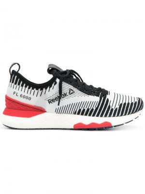 Flyknit sneakers Reebok. Цвет: белый