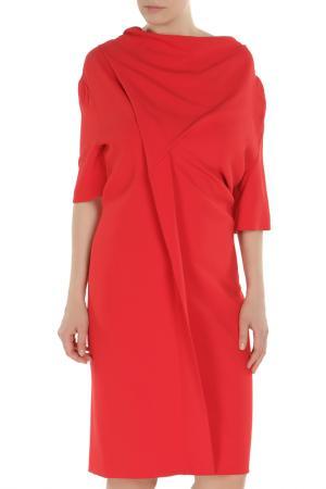 Платье CLIPS. Цвет: красный
