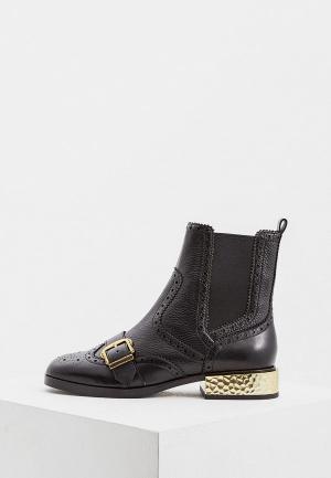 Ботинки Ash. Цвет: черный