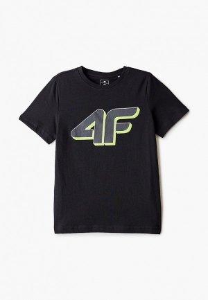 Футболка 4F. Цвет: черный